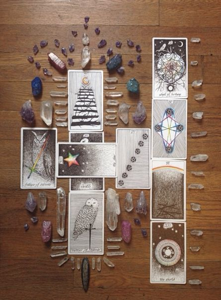 The Wild Unknown tarot would be a beautiful addition to anyone's tarot collection