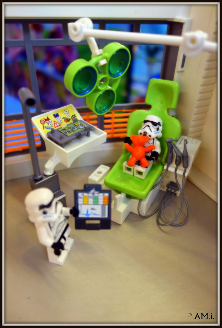 Dental appointment this morning. #Stormtroopers