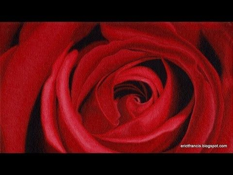 how to paint a rose with acrylic - http://www.thehowto.info/how-to-paint-a-rose-with-acrylic/