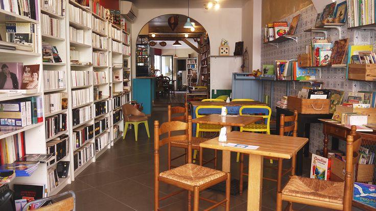 Restaurant, café littéraire - L'ESTAMINET - 8 rue du Pont St Pierre (St Cyprien)