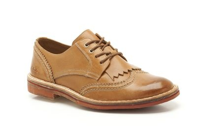 Mens Formal Shoes - Duty Desert in Tan Leather from Clarks shoes