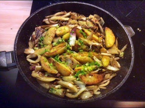 Meine DiashowKartoffel,Fenchel,Zwiebel Pfanne: Zutaten: Fenchelknollen,gekochte Kartoffeln,rote Frühlingszwiebeln, Rapsöl,Salz,Pfeffer,Fenchelsamen,Chilli,Knoblauch