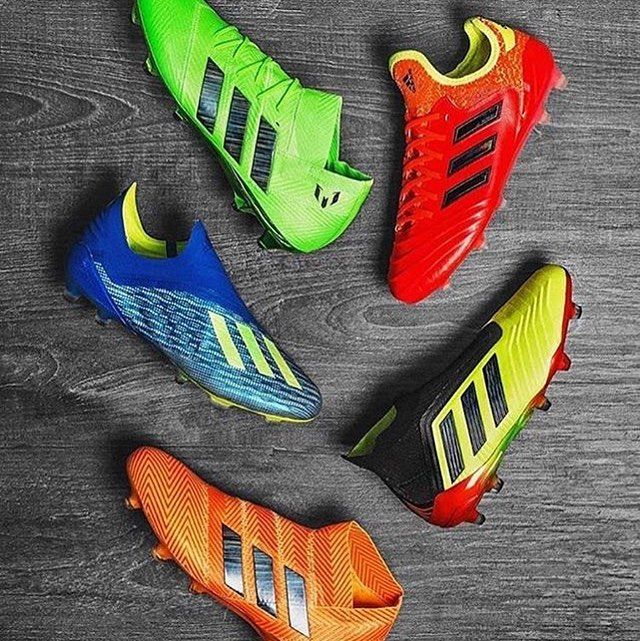 ritmo Rocío Adelante  The new Energy Mode Pack by Adidas for World Cup 2018 - - #adidas #worldcup  #russia #ace | Soccer shoes, Cool football boots, Rugby boots