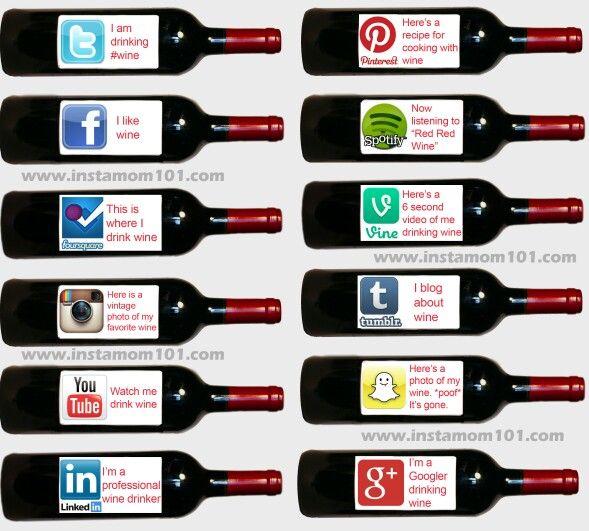 Social media explained - wine style!
