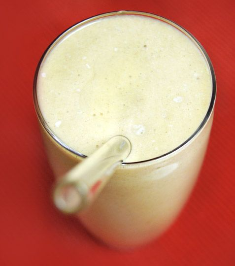 Vanilla Shake- 2.5c almond milk, 1 avocado, 1T vanilla, 1t almond extract, cinnamon, sweetener. (200 calories/serving...serves 2)
