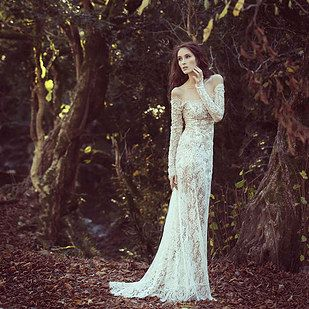 Your dress will look matronly if it's all lace. | 12 Wedding Dress Rules That Are Meant To Be Broken