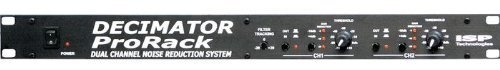 Decimator Pro Rack Stereo Version Noise Reduction by ISP. $369.00. ISP Technologies presents the latest generation in high performance Noise Reduction technology, the DECIMATOR(TM) PRO RACK DUAL CHANNEL NOISE REDUCTION SYSTEM. From the original inventors of the HUSH(R) noise reduction comes the latest, most advanced, patent pending, state of the art technology in real time noise reduction.