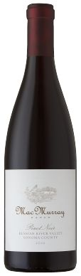 MacMurray Ranch 2010 Russian River Valley Pinot Noir From Sonoma's Russian River Valley wine region, this Pinot Noir has elegant varietal fruit character, with rich aromas and flavors of raspberry, cherry, red currant and boysenberries. Hints of lavender and mushroom are supported by a subtle oak influence. This wine will evolve into a silky, smooth wine with time in the bottle.