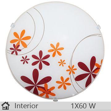 Aplica  iluminat decorativ interior Rabalux, gama Iris, model 1896 http://www.etbm.ro/tag/687/iluminat-ieftin
