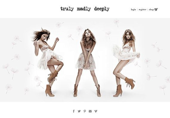 Shopify Website Design eCommerce Web Design Custom by TheParisWife