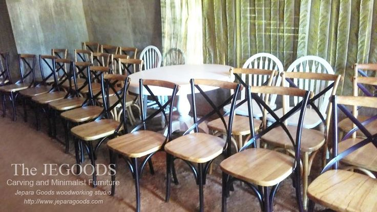 Teak Crossback Chair Wholesale and Supply. Teak cross back chairs made in Jepara, Indonesia. #crossbackchair #crossbackchairsupplier #crossbackchairmanufacturer #crossbackchairindonesia #crossbackchairwholesaler #crossbackchaircafe #crossbackcairrestaurant #crossbackchairretro #crossbackchairwedding #crossbackchairteak