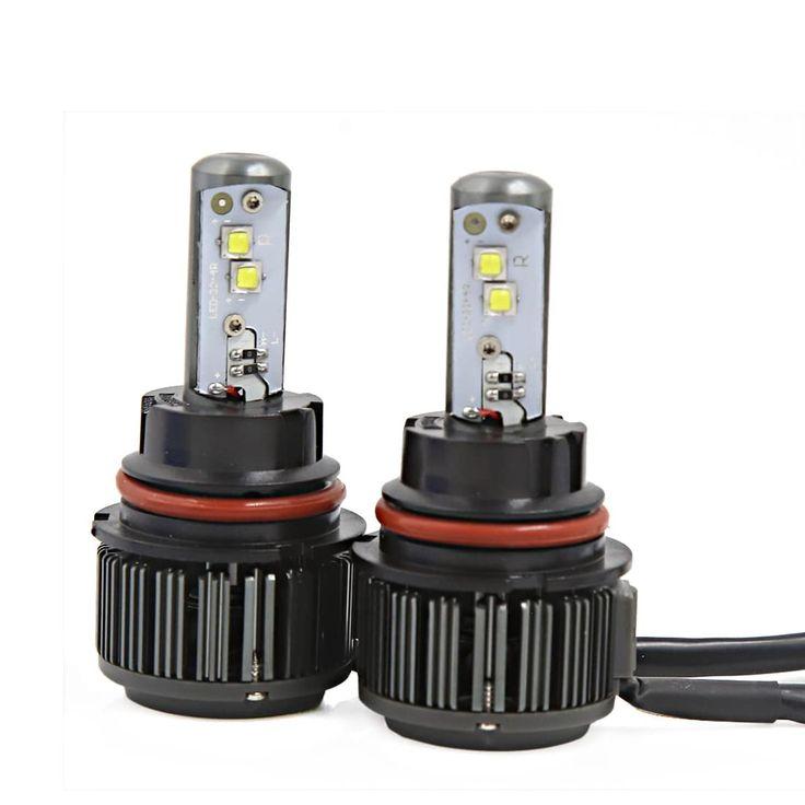 2 x 40W 9004 LED Headlight Kit 6000K 7200LM ETI LED Headlight Bulbs Replacement