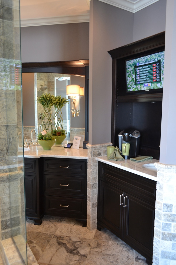 master bedroom coffee bar best 25 tv in kitchen ideas on a tv built in 16014