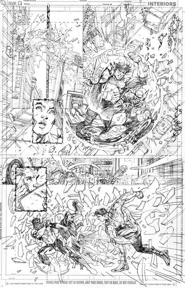 Jim Lee pencils / Justice League