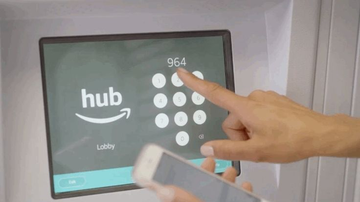 Amazon launches The Hub locker delivery system for apartment buildings