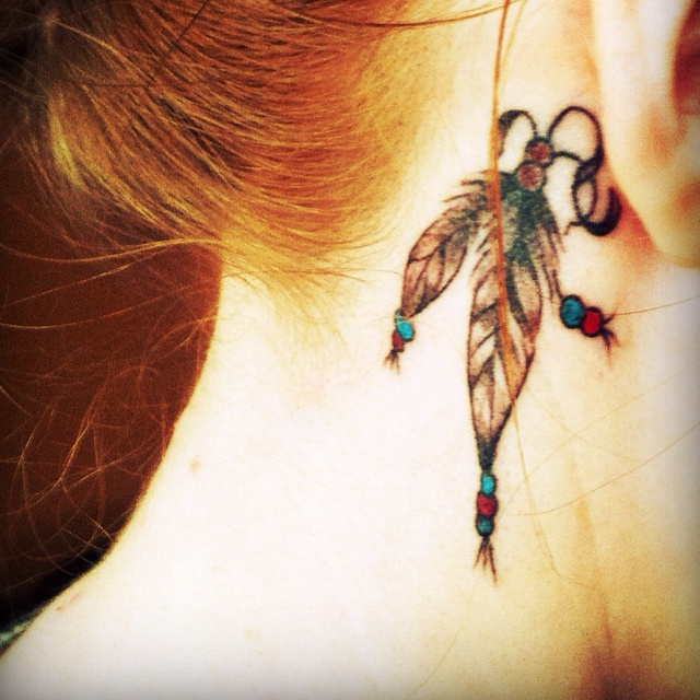 Meaning... courage, strong will and freedom. I want.: Tattoo'S Idea, Skin Accessories, Tattoo'S Mean, 2Nd Tattoo'S, Feathers, Skin Tatuaj, Neck Tattoo'S
