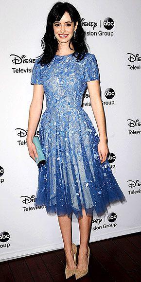 Kristin Ritter in Randi Rahm at an ABC TCA event in Pasadena, Calif. (January 2013)