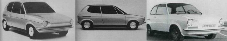 VW Ea266 models and prototype