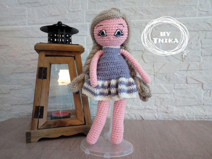 Crochet doll DAISY, doll by Tnika