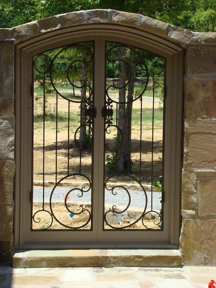 Decorative Wrought Iron Gate, We Could Make This For You. Www.metroiron.