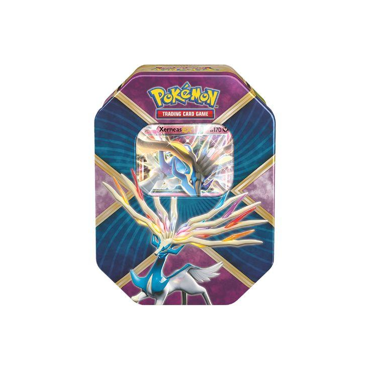 Pokemon Trading Card Game Shiny Kalos Tin Shiny Featuring Xerneas-EX