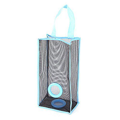 Dispensador de bolsas basura hogar plástico basura bolsa para colgar organizador de soporte para el hogar/cocina/cuarto de baño/oficina