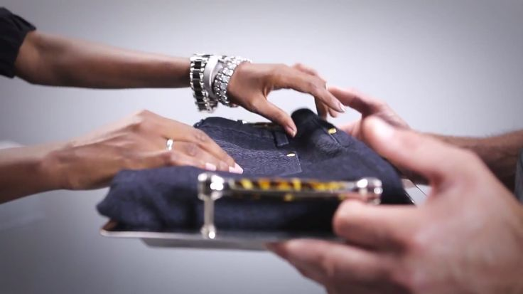 The perfect fit pair of jeans served on a silver platter. Visit www.reitmans.com to find a pair of Jeans that fits you great! #Reitmans | The Jeans Menu - No Reservation Required    #Video #ReitmansJeans #BlueJeans #JeansMenu #Style #BestFit