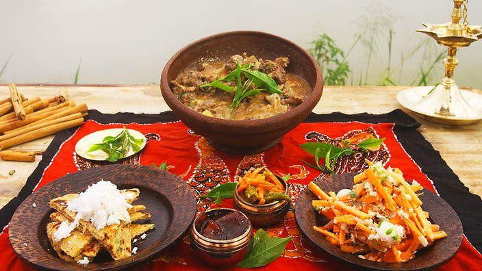 Tea country pork curry recipe : SBS Food