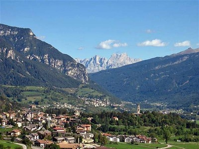Cavalese: The Vanzo family's ancestral home.  Located in the valley below the Dolomite mountains in the Tyrolean north of Italy.