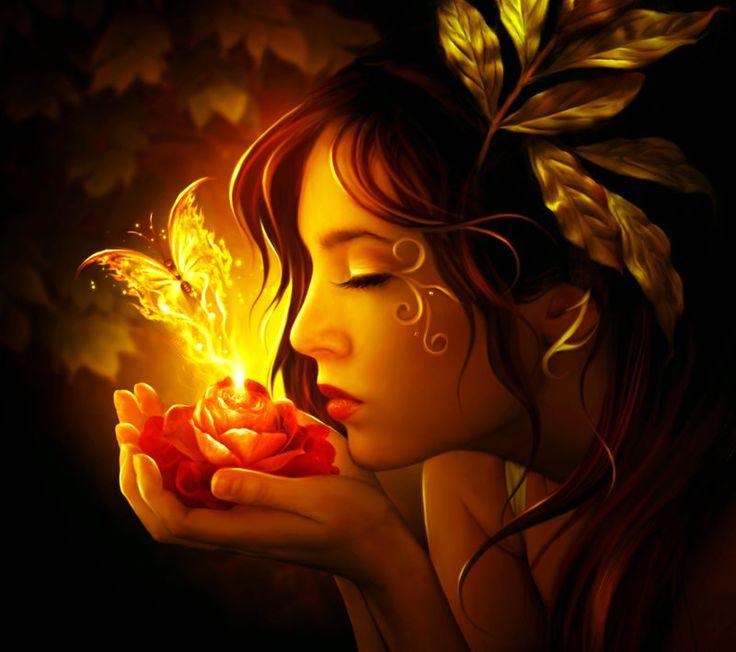 """inexpressibly lovely (""""Rebirth on fire"""" by ElenaDudina.deviantart.com on deviantART)"""