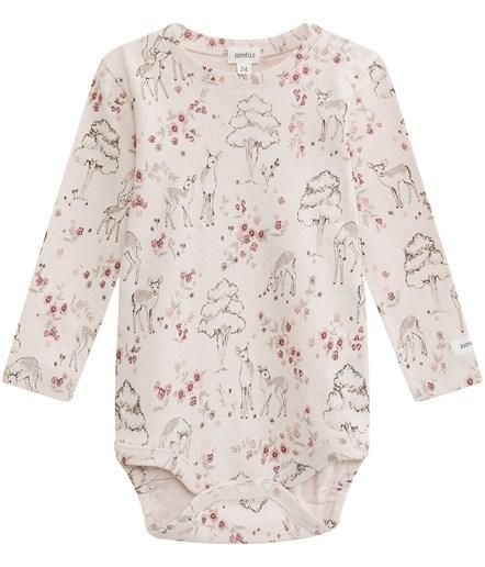 ceec2a4afa6e Sweet fairytale floral print bodysuit with deer