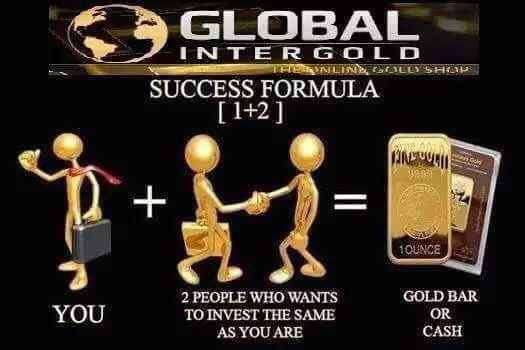 BECOME A GLOBAL INTERGOLD CLIENT AND EARN WITH GOLD!  You can start a gold business by following 5 simple steps: - Register - Place an order and make a minimum initial payment - Get rewards for successful recommendations - Offset the remaining sum with these rewards - Receive gold bars Register right now: https://goldismagic.myintergold.com/home.php