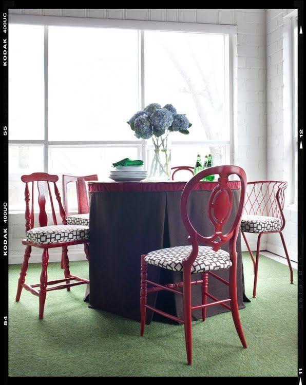 17 mejores ideas sobre sillas de comedor pintadas en pinterest ...
