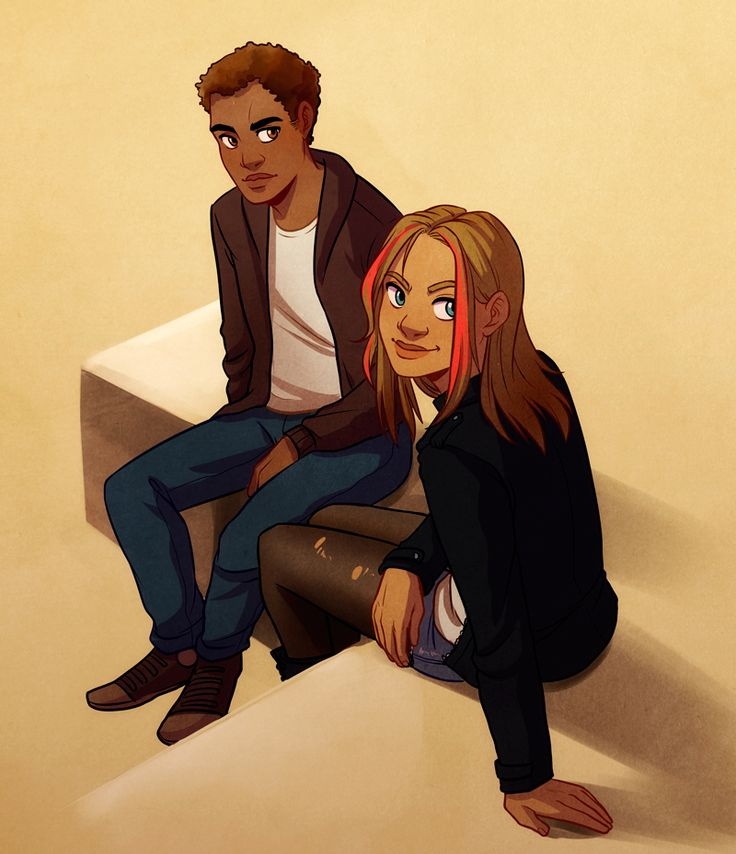 sadie and carter. Know this is the Kane chronicles but it's going with percy
