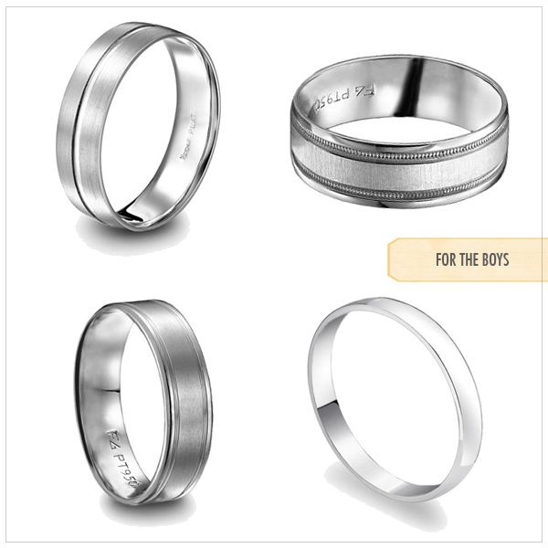 for couple bands price ring couples wedding platinum band love rings jewellery personalized unity
