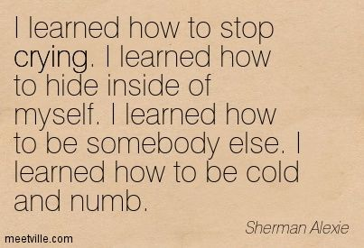 Poems About Dead inside | ... learned how to hide inside of myself i learned how to be somebody
