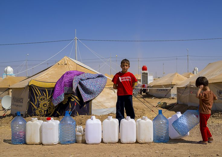 Eric Lafforgue, Syrian Refugee Camp, Erbil, Kurdistan, Iraq