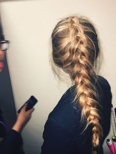 Duch braid plait | 21 DIY Heatless Hairstyles for Long Hair