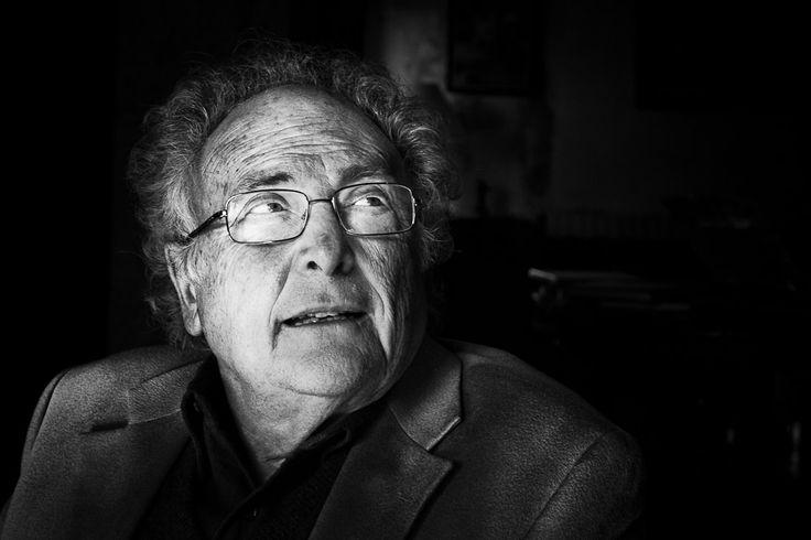 Retrato de Eduard Punset, hecho por nuestro fotógrafo Jon Mart.  #EduardPunset #Portrait #Fotografia