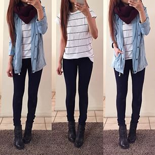 Rina Filipina @rinasenorita ☔️☔️☁️ Stripe top...Instagram photo | Websta (Webstagram)