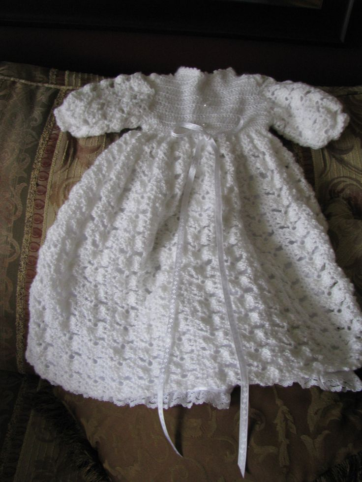 You Should Probably Know This About Crochet Christening