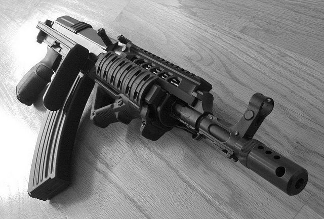 VZ 58. The AK that isn't. Interesting gun to say the least. Chambered in 7.62x39.