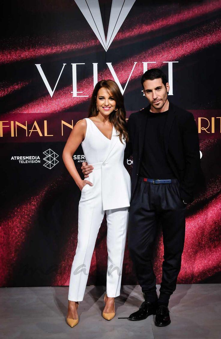 Paula Echevarría y Miguel Ángel Silvestre - Velvet - © Concha Gonzalo - Atresmedia