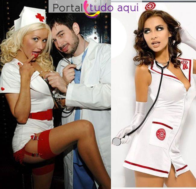 fantasia de enfermeira para o carnaval