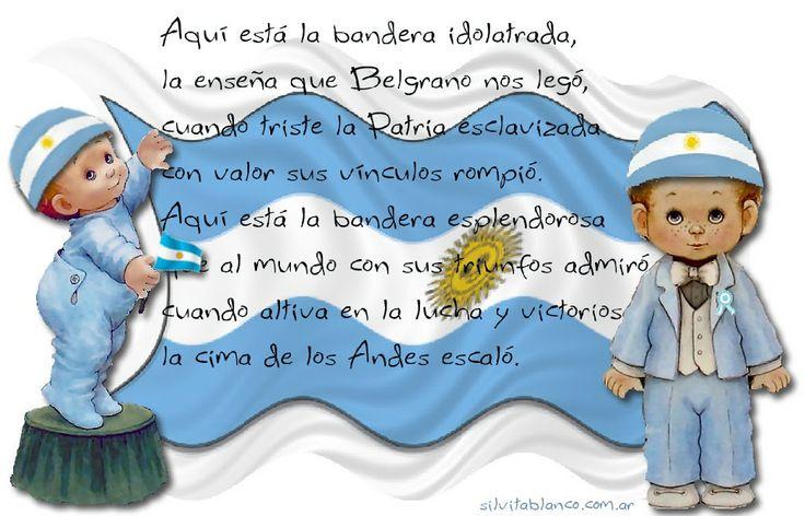 Frases del dia de la bandera argentina en imagenes dia de for Banderas decorativas para jardin