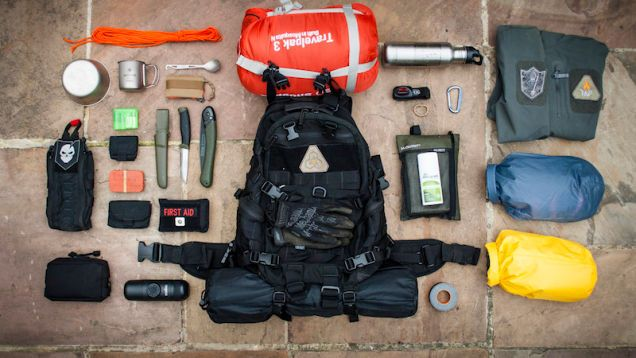 Packing a backpack for a weekend survival trip is a lot different than just heading out camping. Reader Pack Config shows off their backpack that's ready for a three day Bushcraft course.