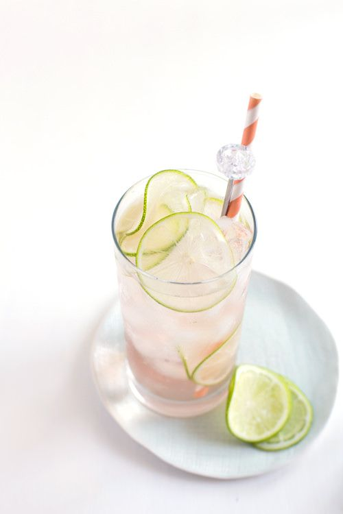 [recipe] Lime Rosé Spritzer Makes 2 1 cup chilled, dry rosé wine 2 ounces St. Germaine (elderflower liqueur) juice of 1/2 lime ice seltzer water lime slice for garnish In a measuring glass combine the rosé, St. Germain, and lime juice. Stir to combine. Fill 2 tall glasses with ice and pour the rosé mixture...Read More »