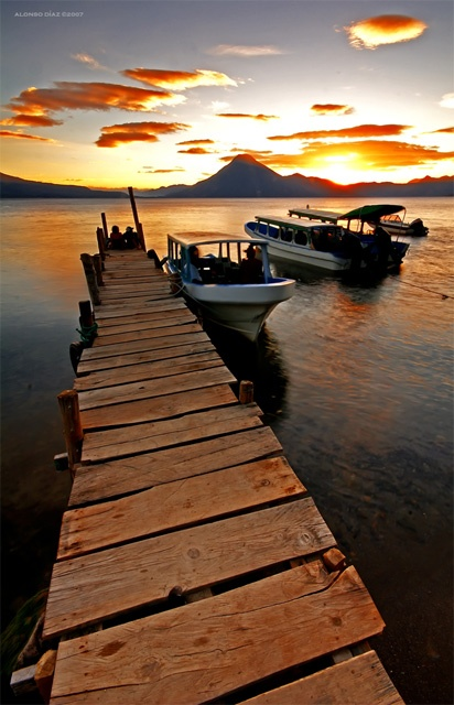 I went here once-atitlan-guatemala-but I would like to go there again someday.