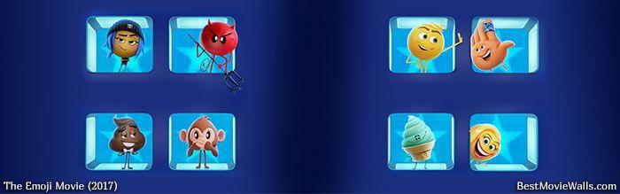 All #emojies  #dualscreen #wallpaper from #TheEmojiMovie :]