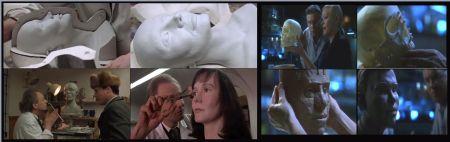 Izda: Escenas de Gorky Park (1983), y dcha: Escenas de CSI Las Vegas, capítulo 3×08. https://retalesdeciencia.wordpress.com/2014/07/20/la-reconstruccion-facial-forense-hubo-vida-antes-de-csi/